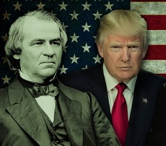 Trump Leaves The White House Like Loathsome Johnson – Impeached & Defeated