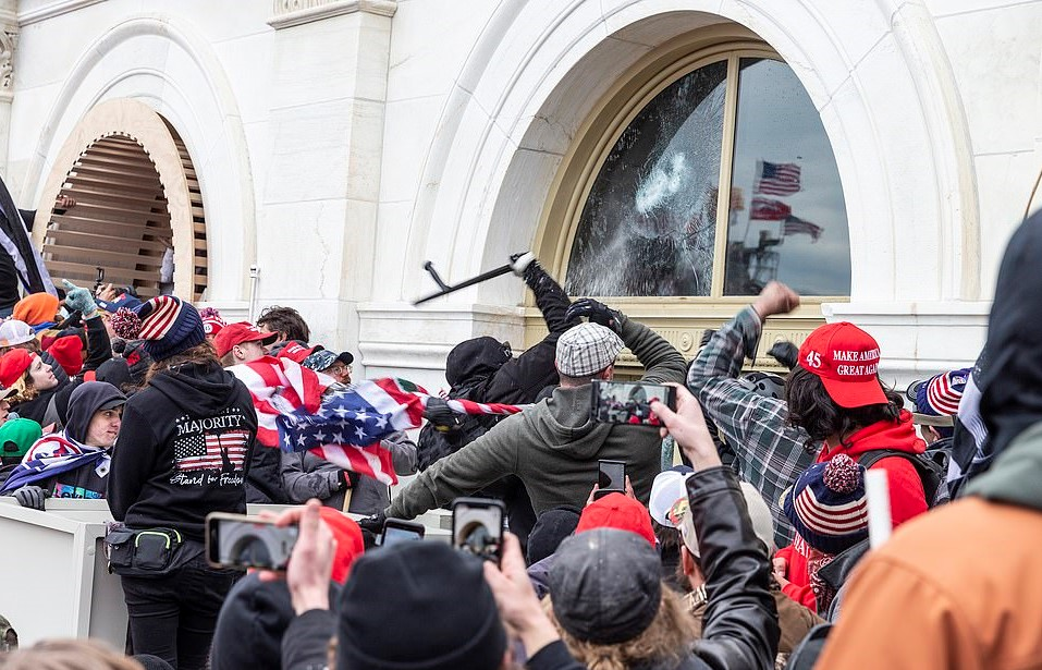 Former Soldier & GOP Congressional Candidate ARRESTED In Connection To Capitol Riot