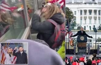 WATCH: Trump Mob Overruns Security At Capitol, Staffers Evacuate Buildings