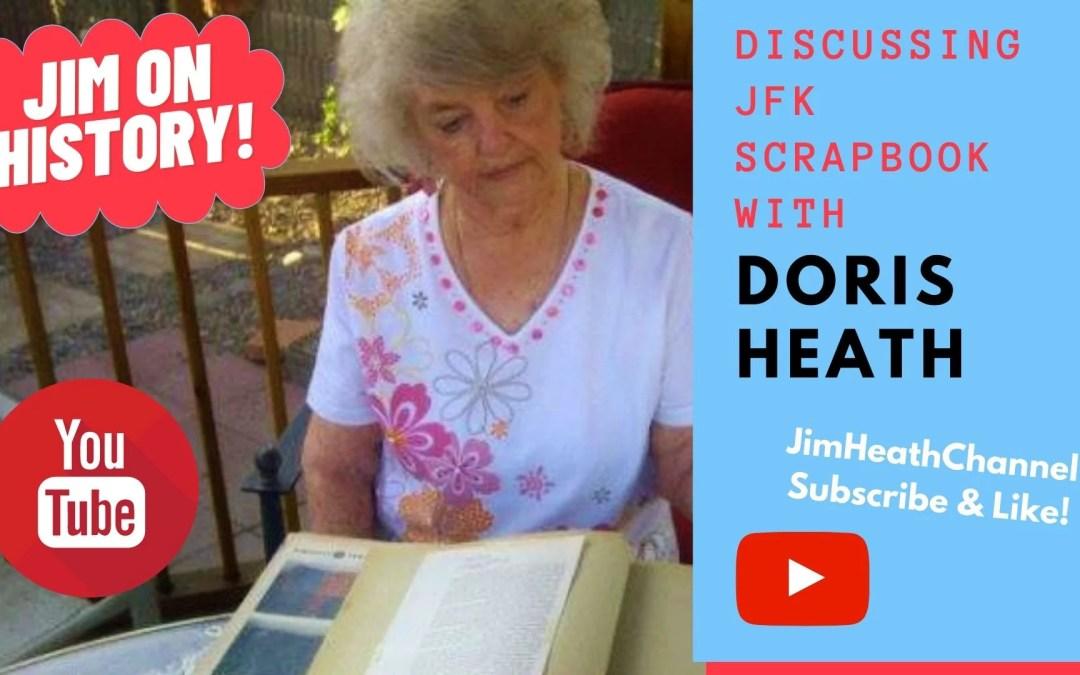 WATCH: Jim On History, Featuring Doris Heath's JFK Scrapbook