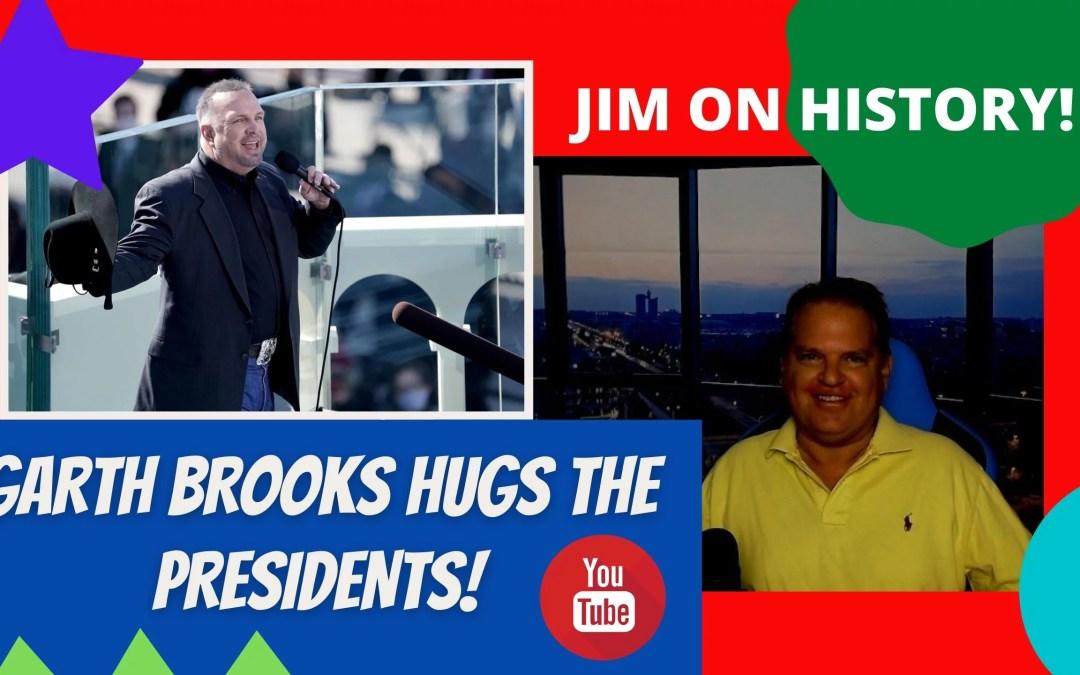 WATCH: Jim On History – Garth Brooks Hugs The Presidents!