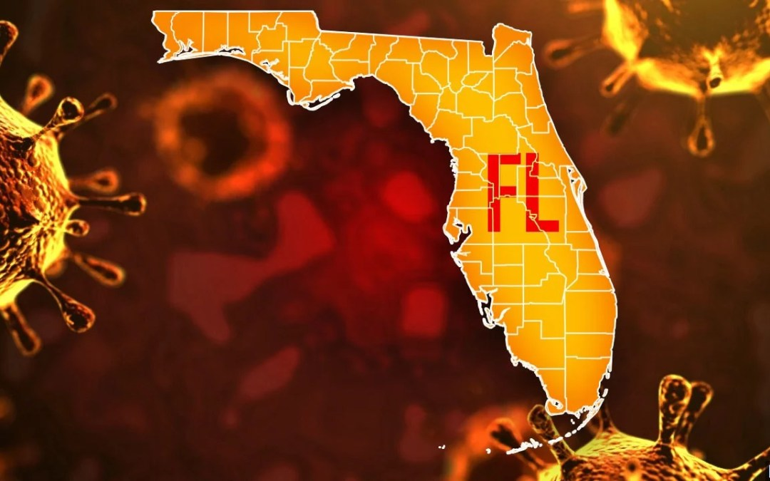 Florida Reports RECORD 21,000 Cases Of COVID In Single Day – Only Half The State Vaccinated