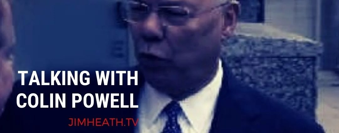 MY STORY: Told No, I Made An Interview With Colin Powell Happen Anyway