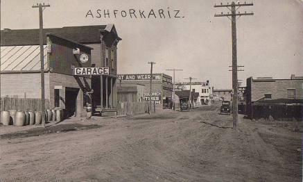 Ash Fork, Arizona Circa 1914