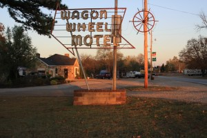 The one and only Wagon Wheel Motel Photo Jim Hinckley of Jim Hinckley's America