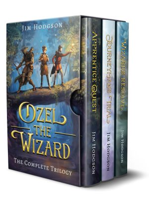 The Complete Ozel the Wizard Trilogy is out