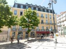 The Bairro Alto Hotel facing Praza Luis Camoes