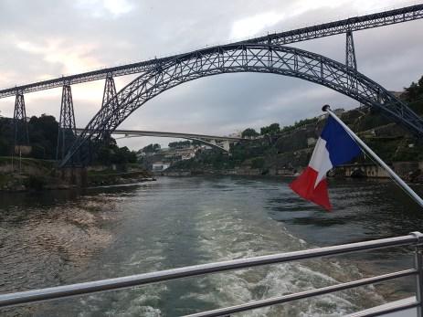 Overcast as we returned to Porto.