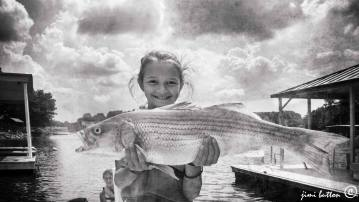 fishing girl