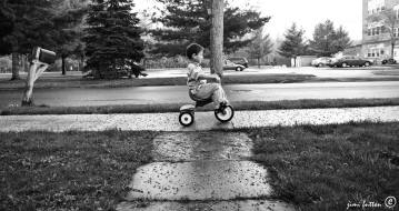 tricycle boy
