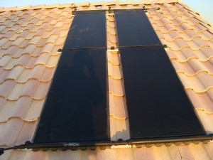 Solar Hot Water Heater Roof Collectors