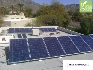 Solar PV and Solar Water Heating System