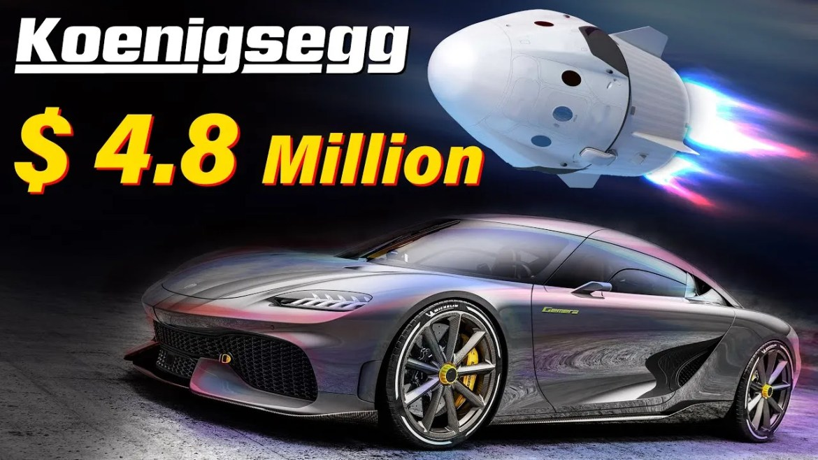 Here's Why Koenigsegg Costs $4.8 Million
