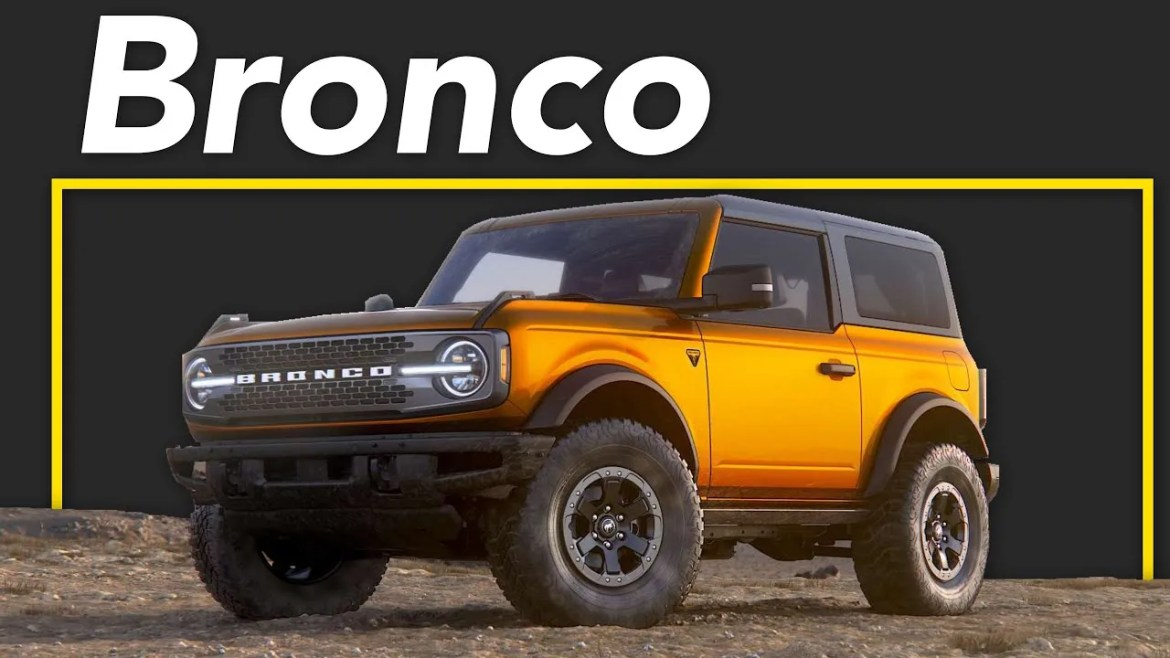 This Ford Bronco was Spotted on the Highway (New Ford Bronco 2021)