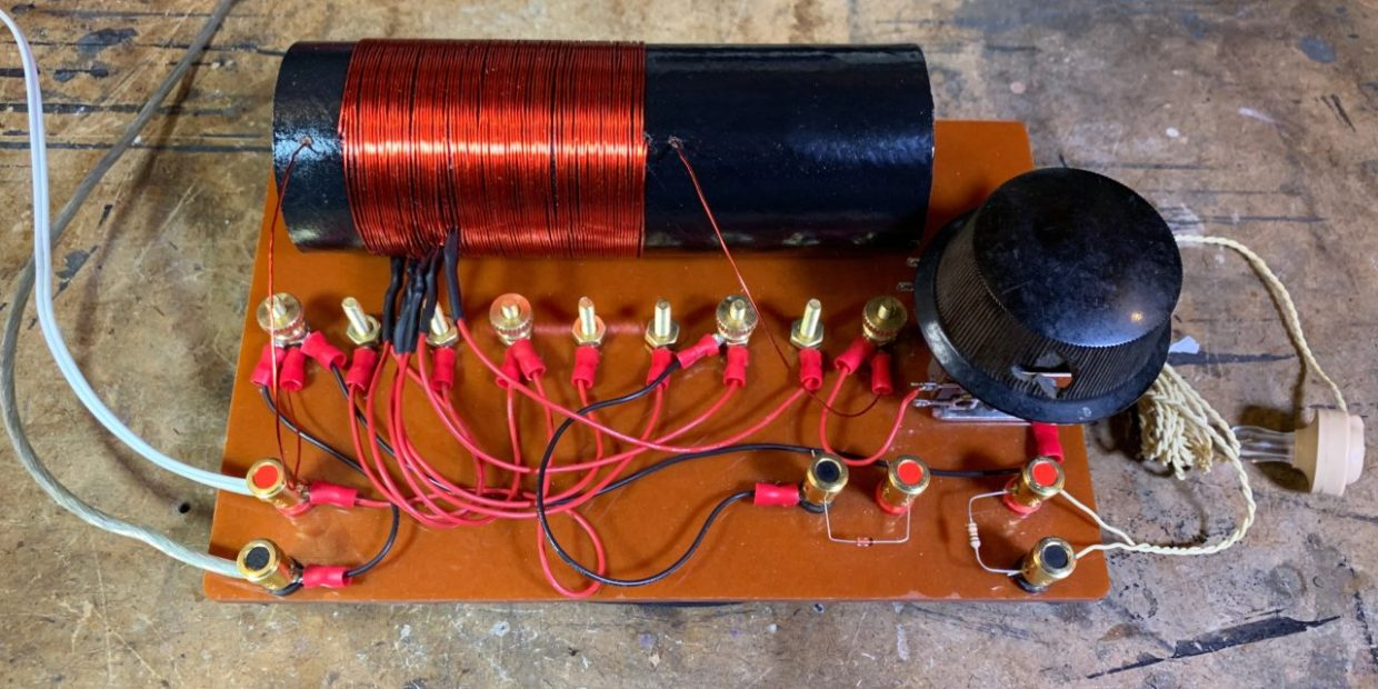 photo of The Finished Crystal Radio