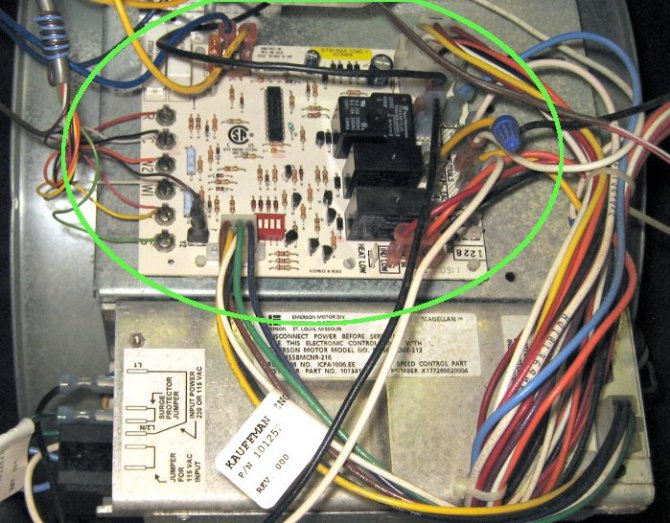 wiring a furnace fan control board kawasaki ignition coil