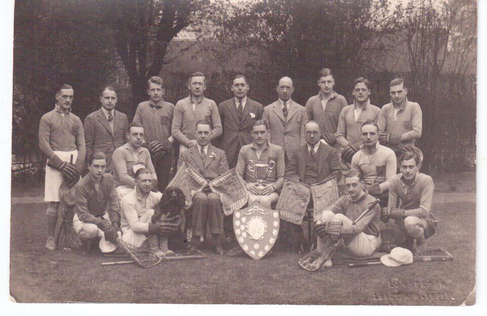 Moorlands Lacross team Yorkshire Cup Winners