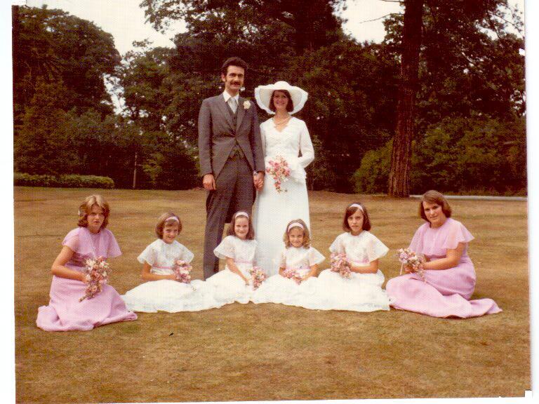John vicky wedding 15.8.75
