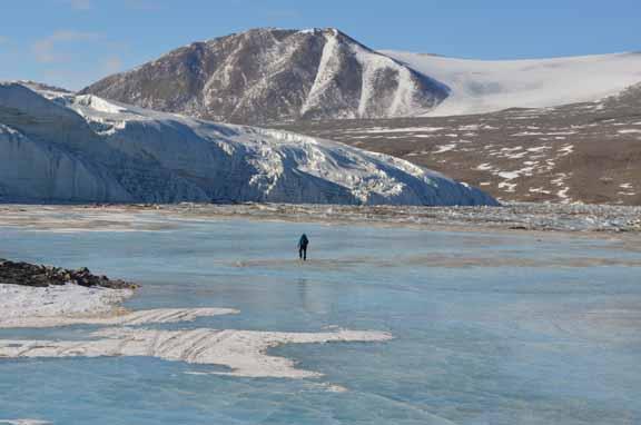 Lake Hoare and the Canada Glacier