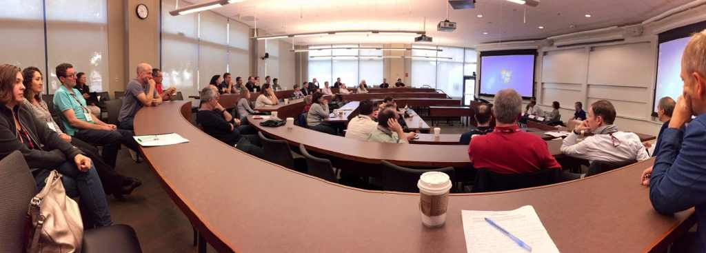 Stanford GSB 20 Year Reunion Classroom pic