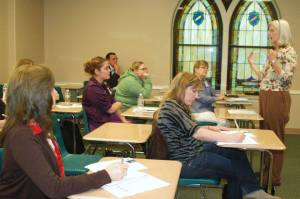 Last Year's East Texas Christian Writer's Conference