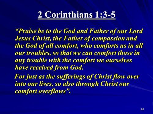 2 Cor 1-3-5