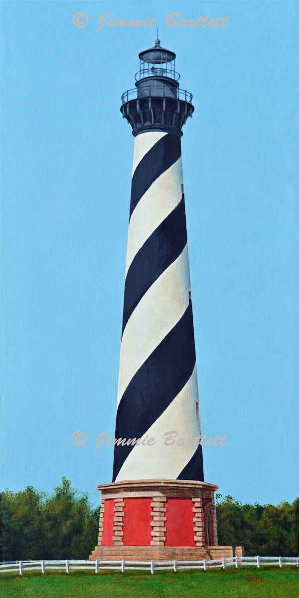 Cape Hatteras Lighthouse Original Painting