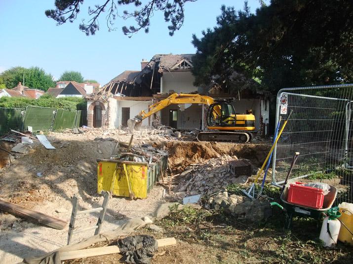 Hove Passivhaus Demolition Jim Miller Design