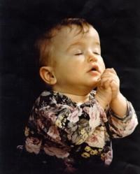 A Praying Kid is a Healthy Kid
