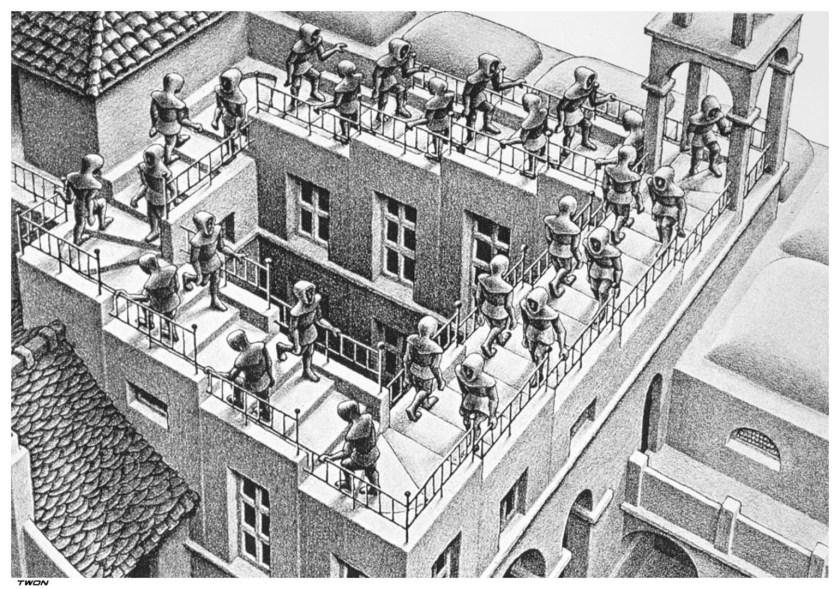 Escalier de Penrose