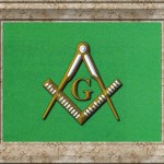 8 Masonic Square and Compasses