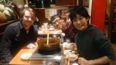 Myself with Asako and her husband