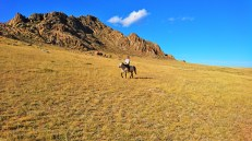 Patrolling the Mongolian Steppe