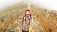 All Alone on the Great Wall