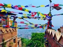 View from Swayambhunath Temple