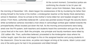 Adam Lanza by Brian Madrid