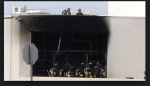JFK LIBRARY FIRE