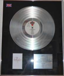 BPI Sales Award The Communards Red Disk