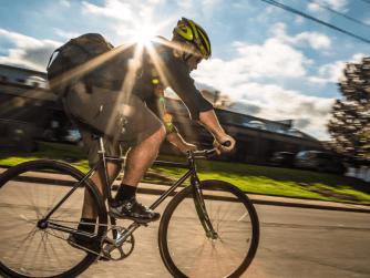 Bill Fehr Biking (Credit: Ben Premeaux)