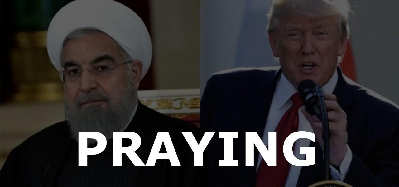 Praying For Iran And America