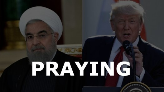 Praying For Iran And America