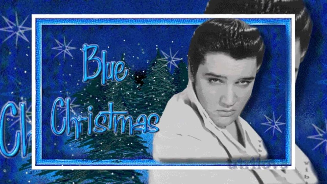 Elvis Blue Christmas
