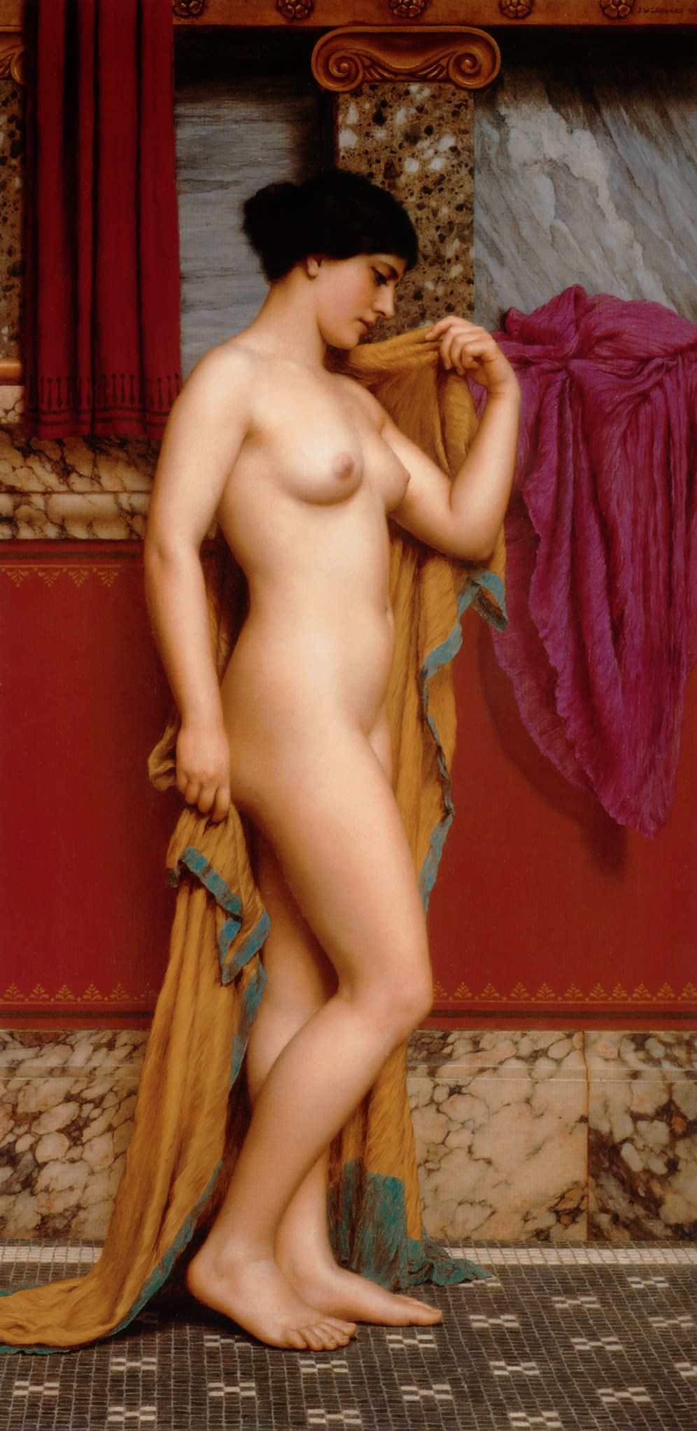 Godward_In_the_Tepidarium_1913