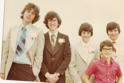 Phil's wedding 1976