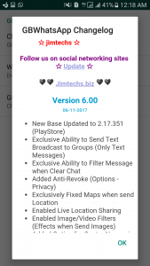 WhatsApp plus JiMODs v6.00 Jimtechs Editions