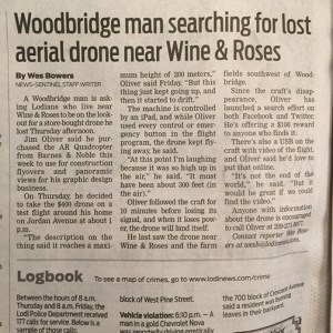 lodi, ar drone, video, Woodbridge, web design, drone, Lodi News Sentinel, graphic design