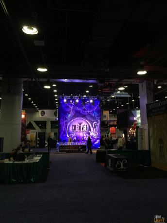 PRO booth from afar