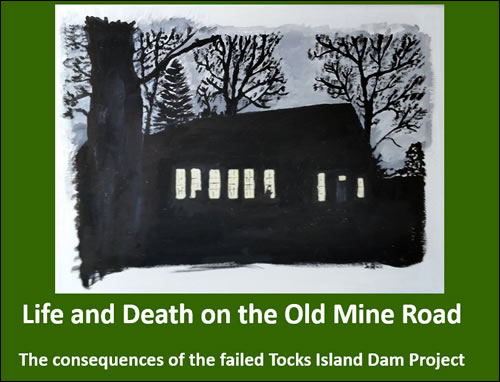 Tocks Island dam project aftermath.