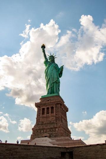 Liberty Island.