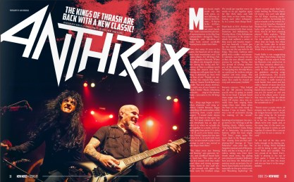 Anthrax interview: Issue 23